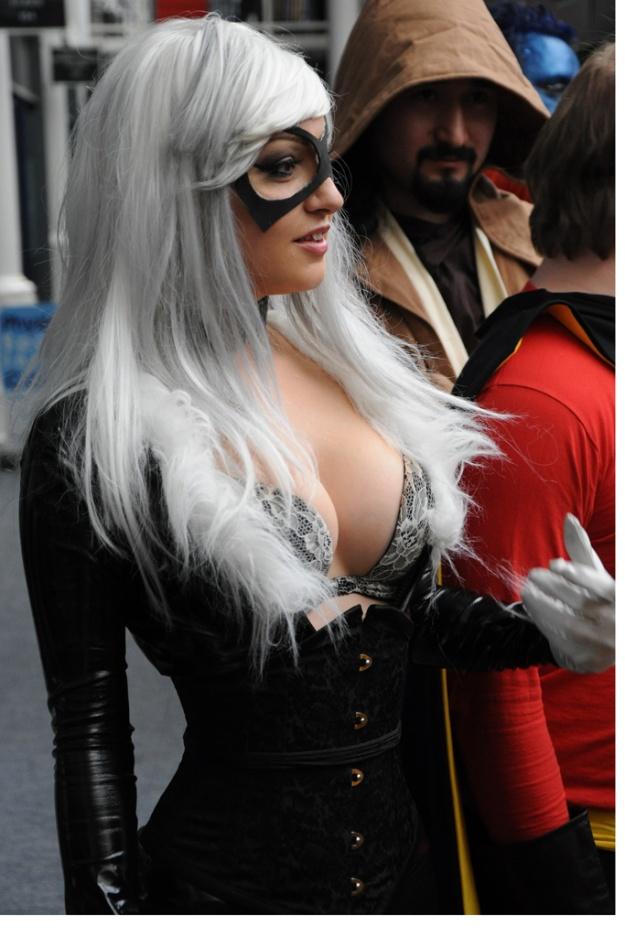 Cosplay Black Cat Sexy