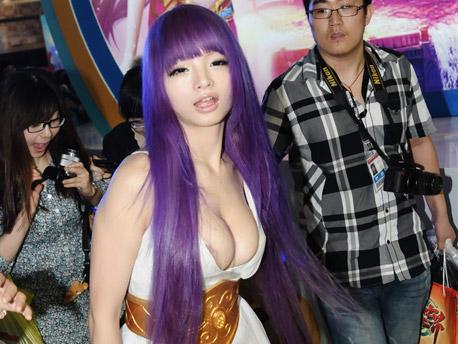 cosplay deusa athena sexy foto 3