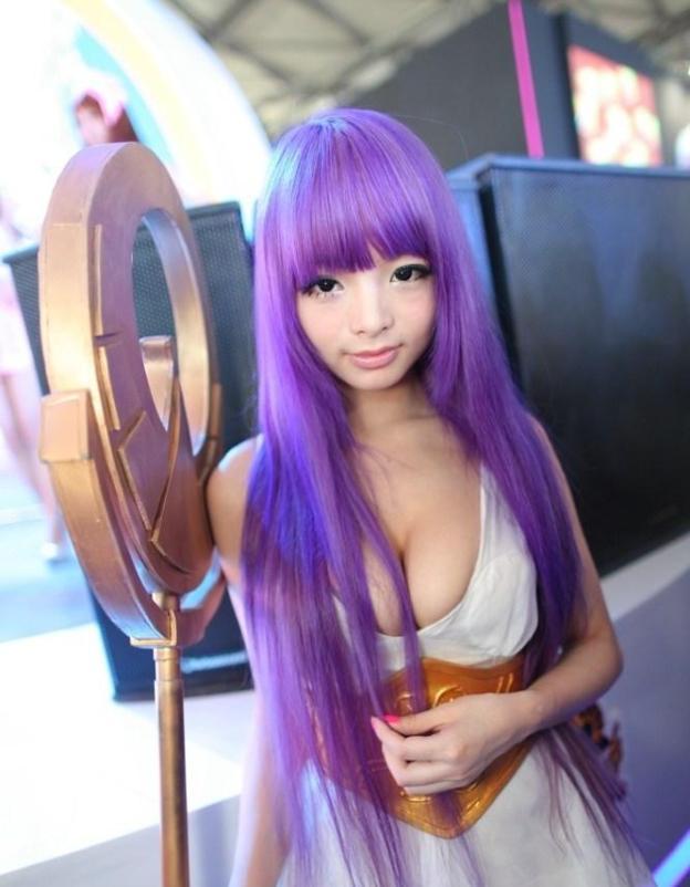 cosplay deusa athena sexy foto 5