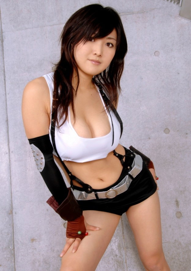 Tifa Final Fantasy Cosplay Sexy