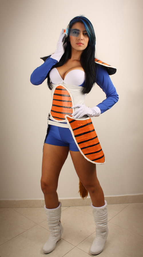 Cosplay Feminino Vegita Sexy Dragon Ball Foto 1