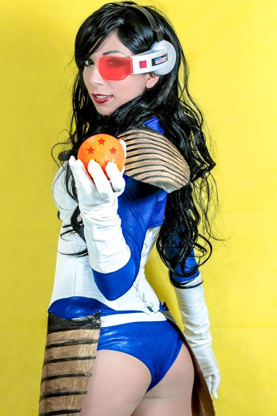 Cosplay Feminino Vegita Sexy Dragon Ball Foto 3