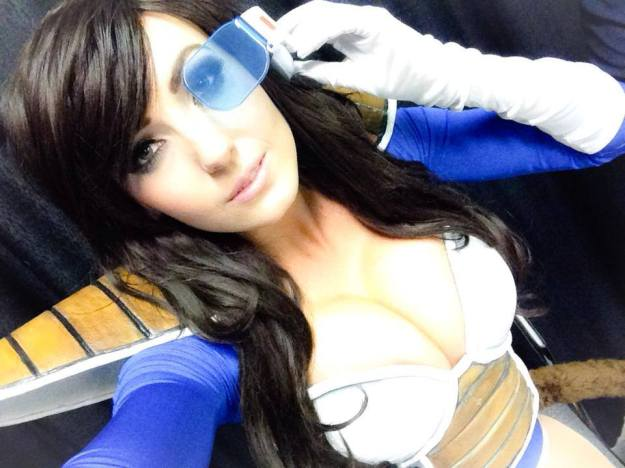 Cosplay Feminino Vegita Sexy Dragon Ball Foto 6