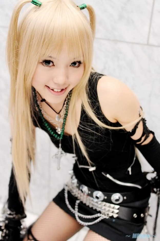 cosplay sexy misa death note foto 2
